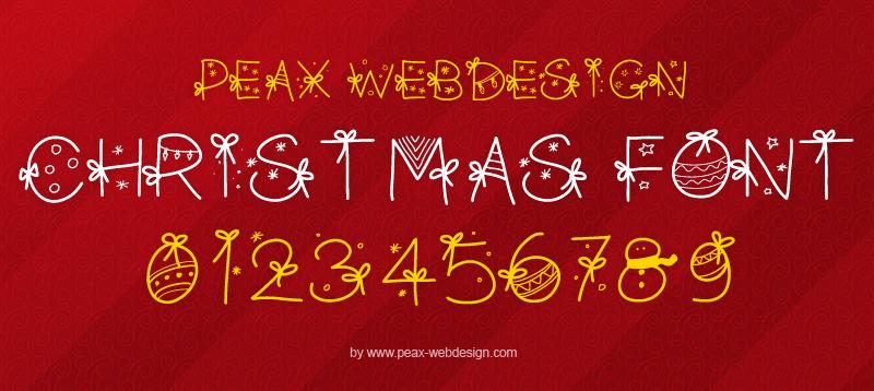 PW Christmas Font | dafont.com