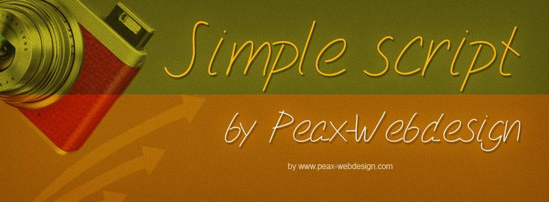 pw simple script font