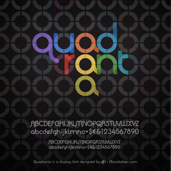 Quadranta Font | dafont.com