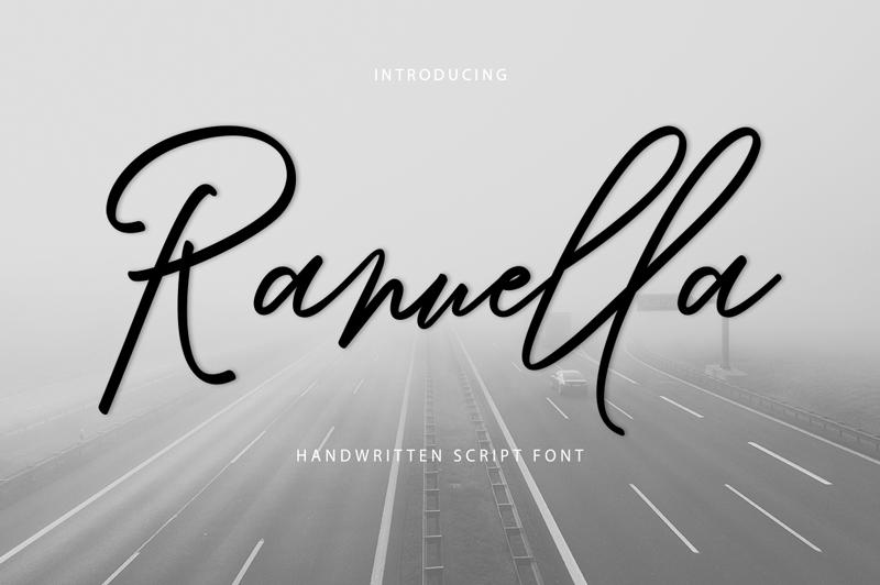Ranuella Font   dafont com