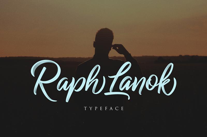 Raph Lanok Font