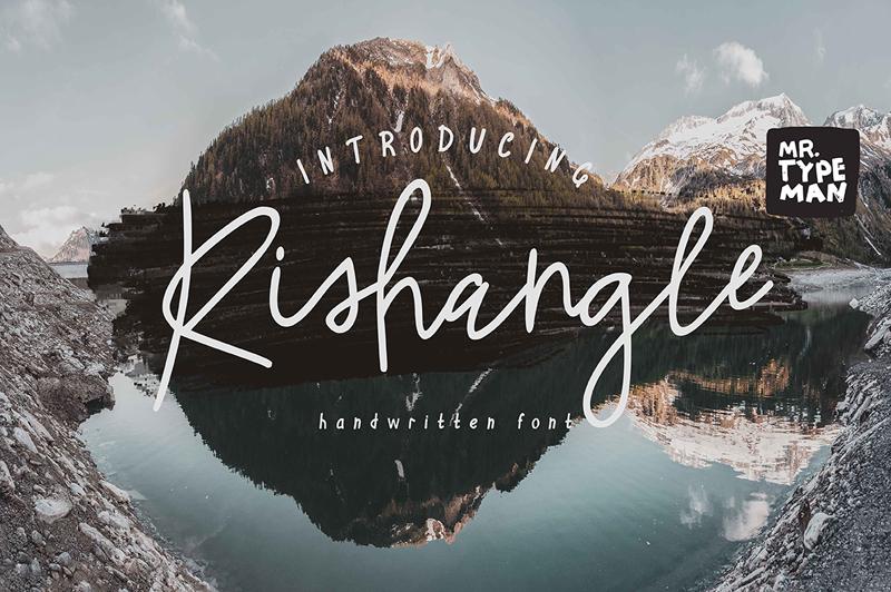Rishangle Font   dafont.com