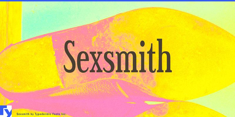 Sexsmith Font | dafont com
