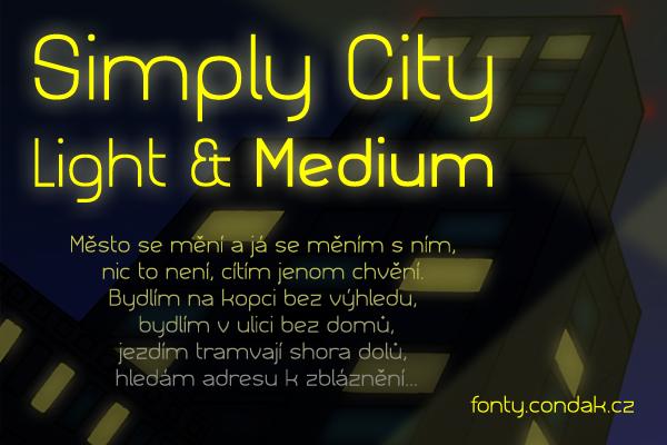 Simply City Font dafontcom