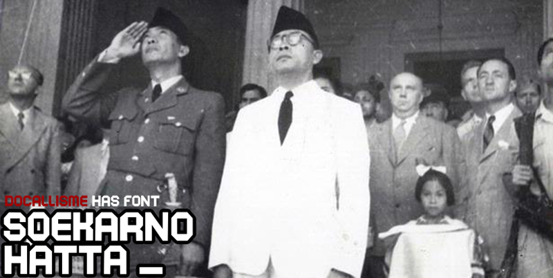 Soekarno Hatta Font Dafont Com