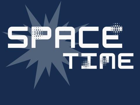 Space Time Font | dafont com