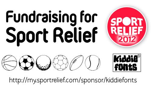 Sport Relief Font | dafont.com
