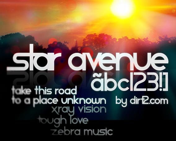 Star Avenue Font | dafont com