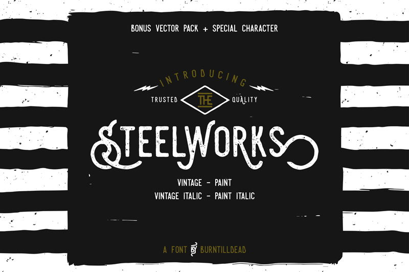 Steelworks Font | dafont com