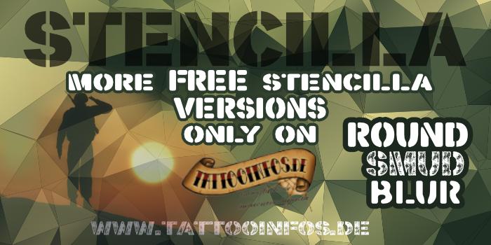 Stencilla Font | dafont com