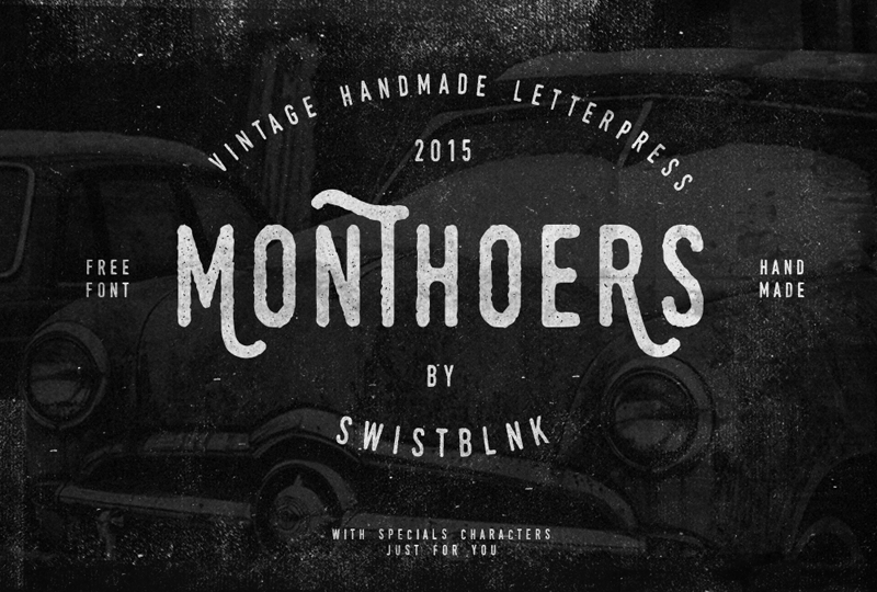 Monthoers Font Download