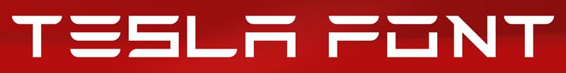 Tesla Font | dafont com
