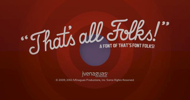 That's Font Folks! | dafont com