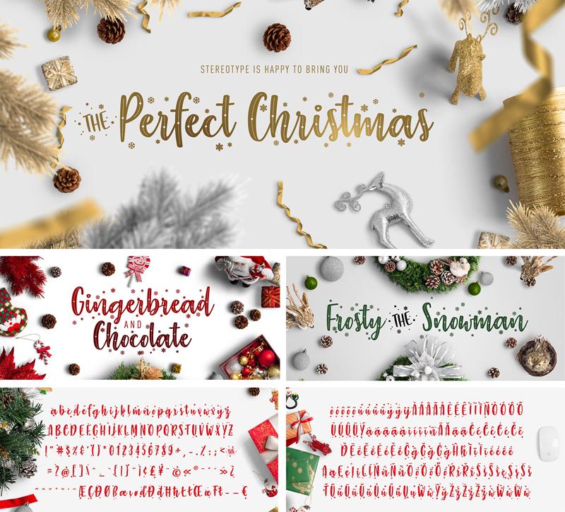 The Perfect Christmas Schriftart