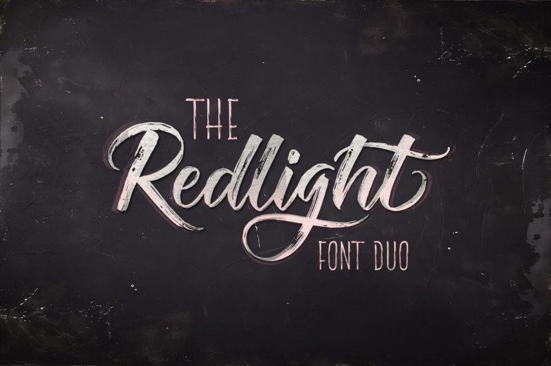 The Redlight Font | dafont.com