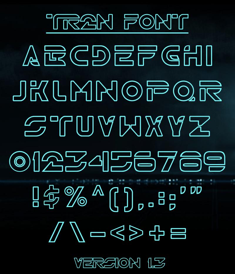 TR2N Font | dafont com
