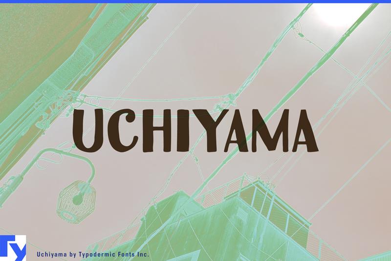 Uchiyama Font | dafont com