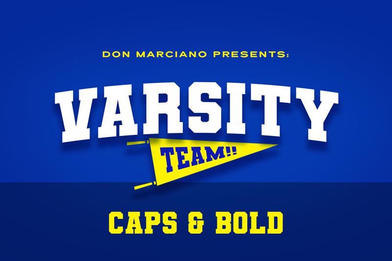 Varsity Team Font | dafont com