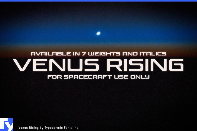 Venus Rising Font | dafont com