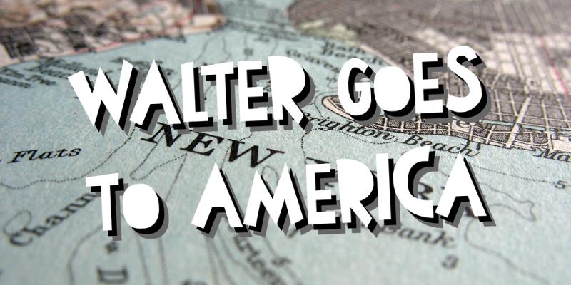 Walter Goes To America Font | dafont com