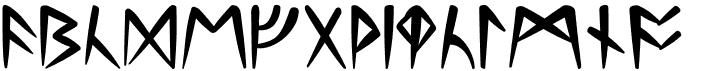 Britannian Runic Font
